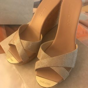 Jimmy Choo sandals / wedges